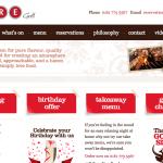 raregrill.com Rare Grill - Intellihosts Web Development Project