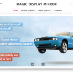 www.magicdisplaymirror.co.uk Magic Display Mirror - Intellihosts Web Hosting, Design, Development and Maintenance Project with SEO