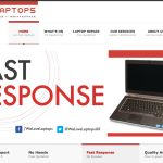 www.welovelaptops.net We Love Laptops - Intellihosts Web Hosting, Design, Development, Maintenance and Marketing Project with SEO